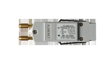 Измерительный коннектор для дифференциального и атмосферного давления